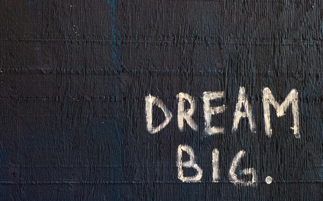 Olieritueel: Dream Big & Step Up